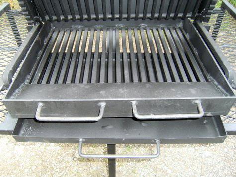 Tiroir à cendres pour barbecue