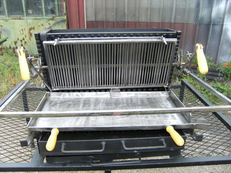 barbecue-vertical-position-cuisson